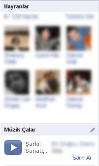 Facebook'da  Müzik Çalar Yapmak