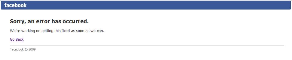 Facebook Hata